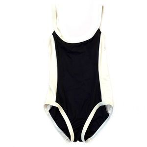 MARC by MARC JACOBS Black/White One Piece Swimsuit